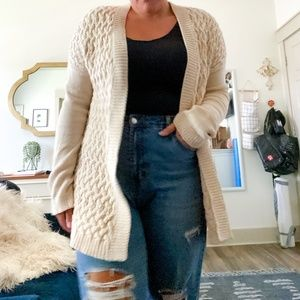Gap thick knit cardigan